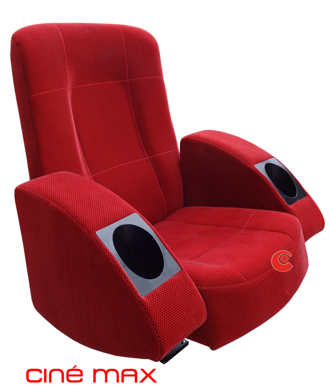 Fauteuils de cinema assises fixes et rabattables assises fixes - Fauteuil rouge cinema ...