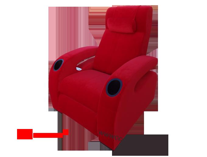 Fauteuils class premium double motorisation l osmose l osmose - Fauteuil rouge cinema ...