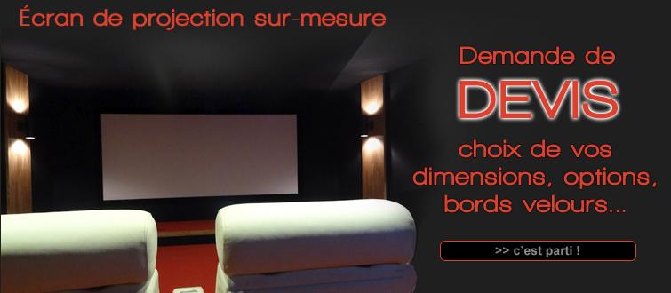 ccomocin fauteuil de cin ma accessoires d co home cin ma cran de projection 2 35 cinemascope. Black Bedroom Furniture Sets. Home Design Ideas